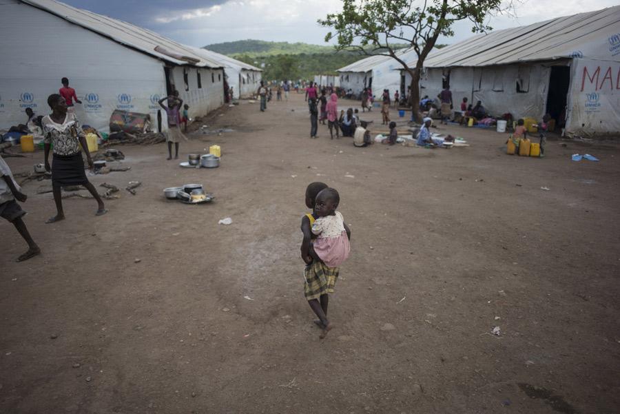 El asentamiento de refugiados de Imvepi abrió en febrero de 2017 y puede acoger a un máximo de 110.000 personas.
