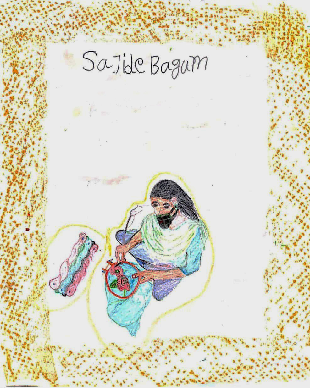Women Life, Livelihood and Leisure, illustration by Sajide Begum