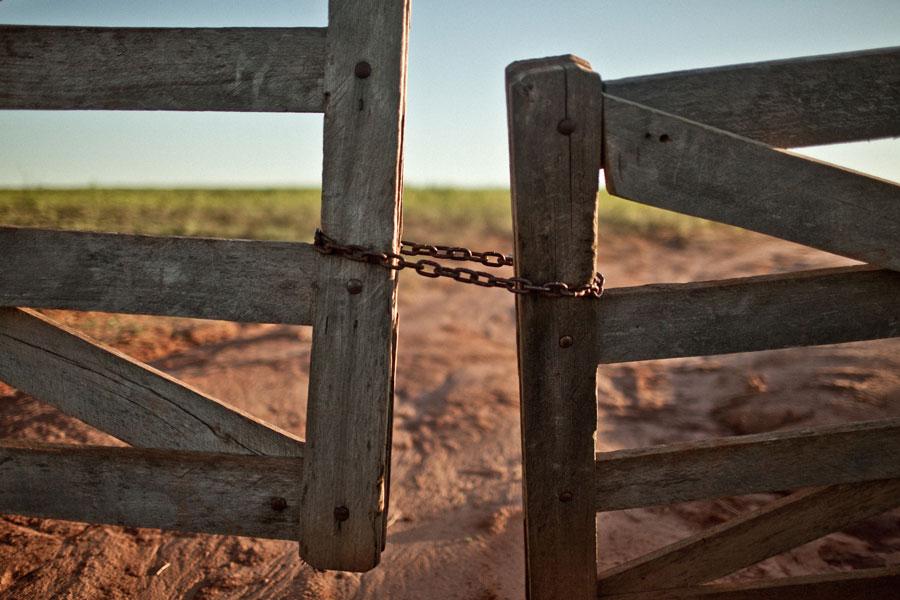 Acaparamiento Paraguay La soja mata. Foto: Pablo Tosco / Oxfam