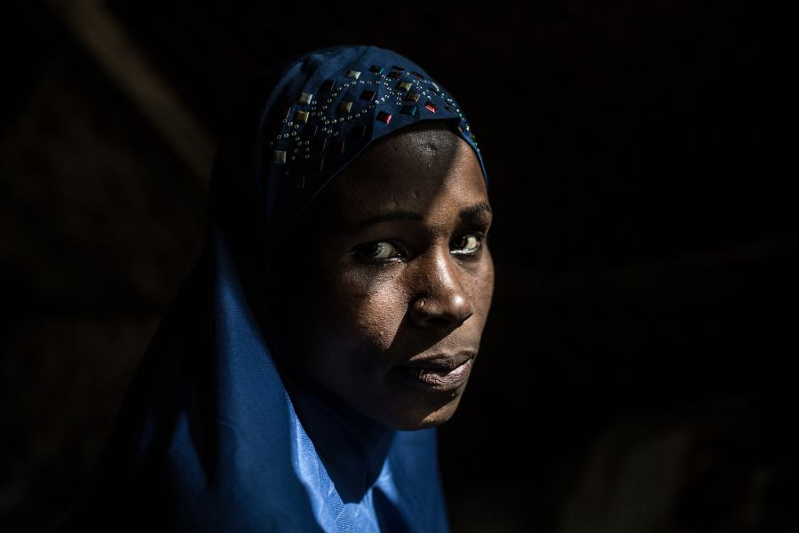 Fatana was abducted when Boko Haram burst into her village in the middle of the night and killed her husband.