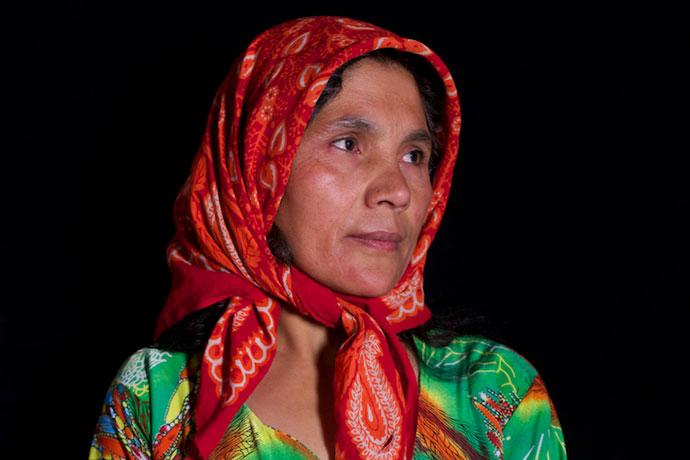 sajida afghan woman