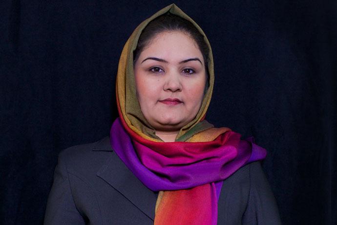 rangina karga afghan woman