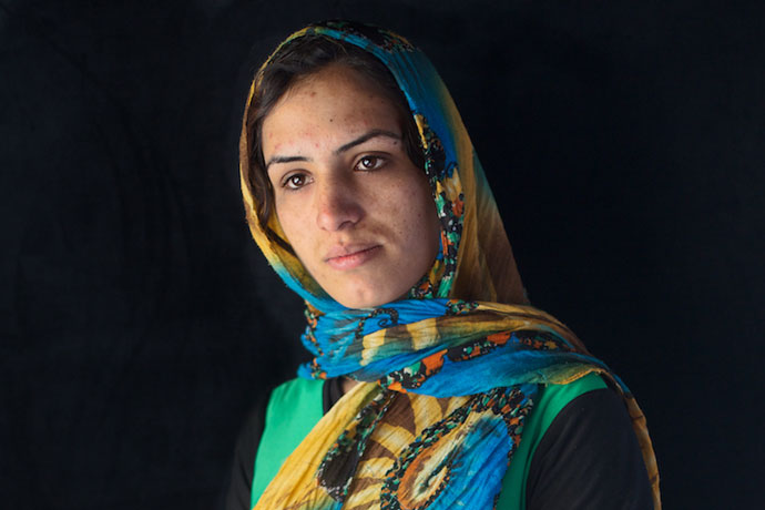 khushbu afghan woman