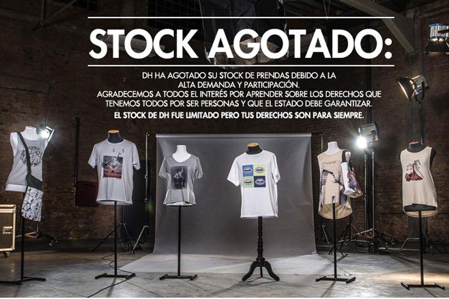 El stock es limitado, pero tus derechos son para siempre. Derechos Humanos Paraguay.