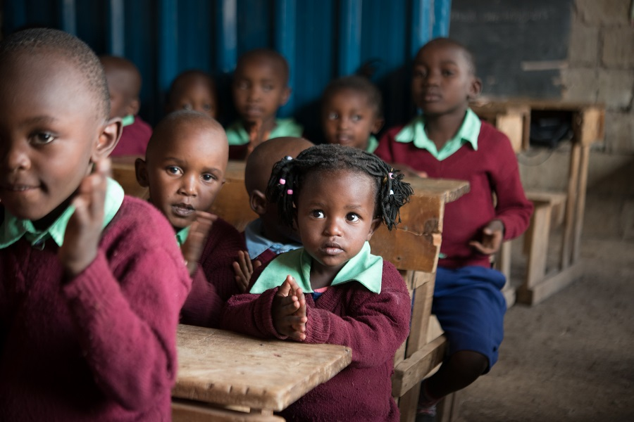 Nearly one million primary school-aged children are still out-of-school – the ninth highest number of any country in the world. Photo: Allan Gichigi/Oxfam