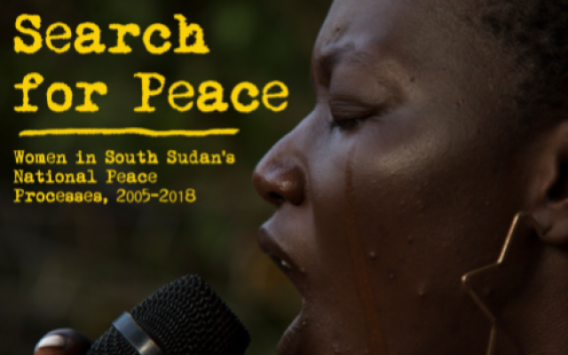 Oxfam's research on South Sudan women's role in peace