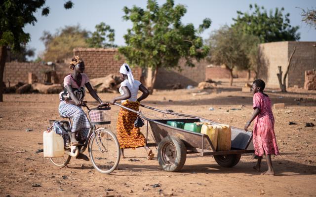 Le camp pour personnes déplacées de Pissila, au Burkina Faso.