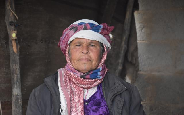Wadha*, who lives in Deir Ez-Zor, is one of many people benefiting from Oxfam's cash-for-work intervention.As well as cash for work programs, Oxfam in Syria runs training programs for women to learn skills so they can set up their own businesses or gain outside employment.