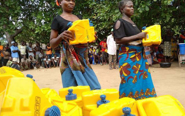 LifeSaver Cubes in Mozambique