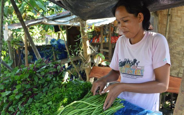 Rosana Jano is a farmer from Sultan Kudarat, Philippines.
