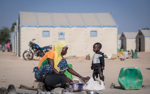 The crisis has displaced more than 840,000 people inside Burkina Faso, 84% of whom are women and children.