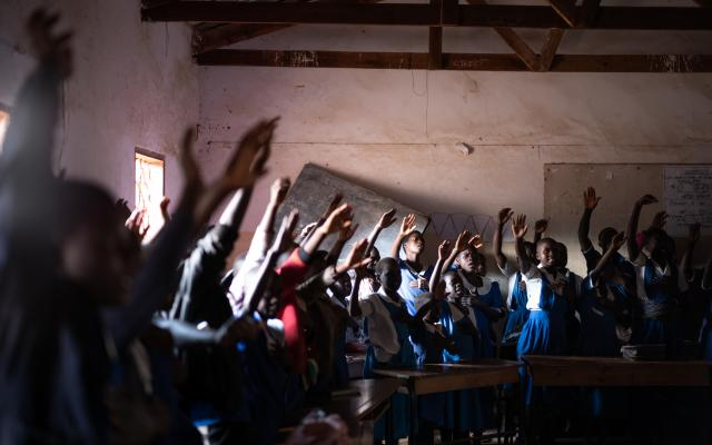 Students in Malawi learn what sexual gender-based violence is and how they can report and protect themselves from it.