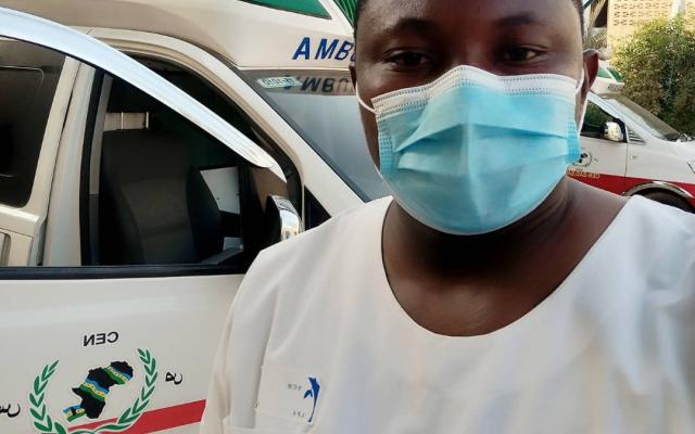 Awal Issa Rachid is a young just graduated doctor who is on the front line of the coronavirus crisis in Niger.