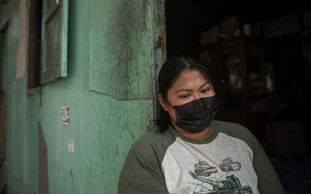 Ma-o, migrant worker in Thai shrimp industry