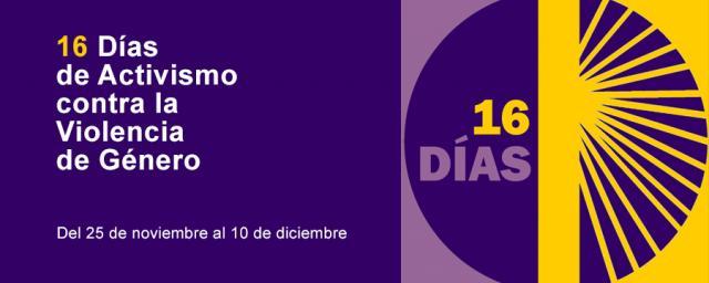 16 dias de activismo contra la violencia de genero