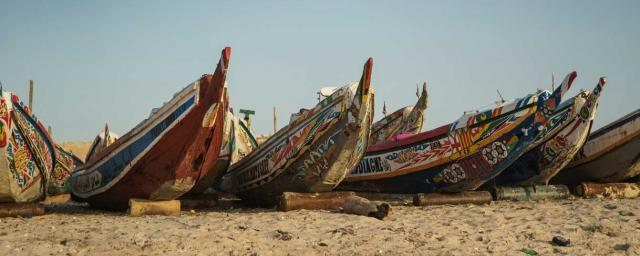 Playa de pescadores de Nouakchott, Mauritania. Crédito: Migueltxo Molina / Oxfam Intermón