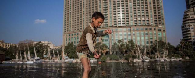 Impressions d'inégalités extrêmes à Karachi, à Dacca et au Caire. Crédit : Eman Helal / Oxfam Novib