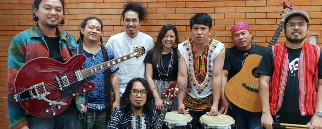 Talahib People's Music is a world music band from the Philippines.