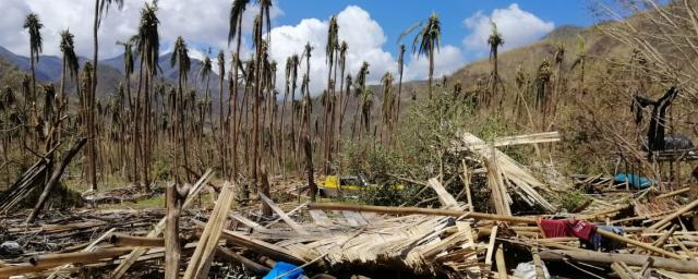 Scenes of destruction from Cyclone Harold which tore through the island nations of Vanuatu, Fiji, Tonga and the Solomon Islands in April 2020.