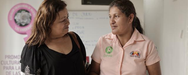 Mélida Guevara, from Oxfam in El Salvador