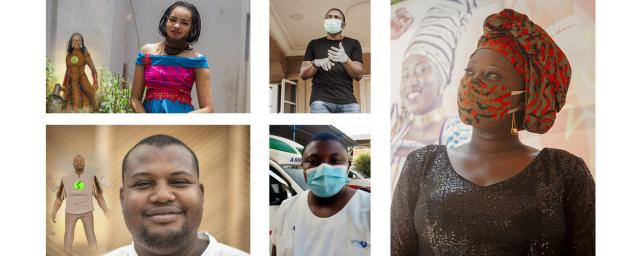 In Burkina Faso, Niger, Mali, Nigeria and Chad, young people mobilize against coronavirus.
