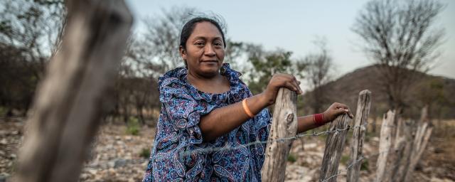 Yaquelin es defensora de derechos humanos, territoriales y ambientales de la región de la Guajira colombiana.