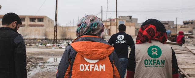 Oxfam's Public Health Promotion team in Iraq