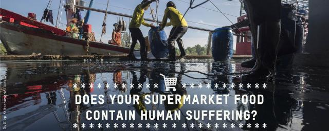 Does your supermarket contain human suffering?