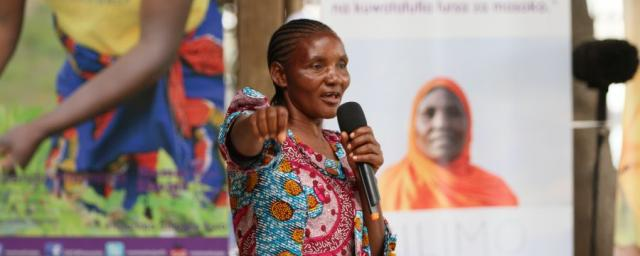 """I am known for my role as a mentor to my peers and also as a hard worker. You are more likely to find me at the farm working and if you do not find me there, I am most likely at the women group meetings exchanging ideas with my peers."""