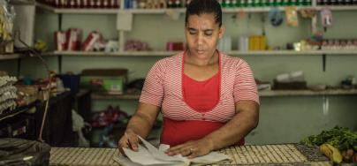 Traditional gender roles determine a large part of women's economic status and fortunes in Guatemala, Honduras, and the Dominican Republic.
