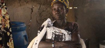 Nyatapa, 32, tea trader. South Sudan.Credit:Tim Bierley/Oxfam