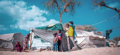 Disastrous humanitarian conditions of Jabal Zaid Camp, Al Turbah, Taiz, where people live in threadbare tents and lack the basic needs. Credit: VFX ADEN/Oxfam
