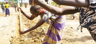 Women farmers in Uganda