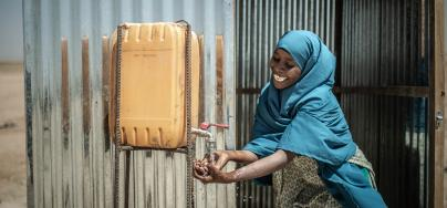 Aisha is a health promoter in the community of Docoloha, Somalia.