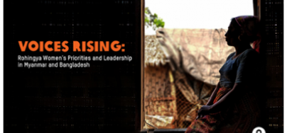 Voices Rising report cover image