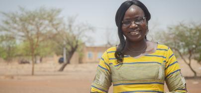 Naomie Ouedraogo Bicaba, militante de la paix au Burkina Faso