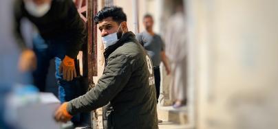 Iraq staff Covid 19 response