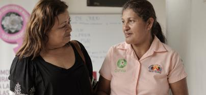 Mélida Guevara, from Oxfam in El Salvador