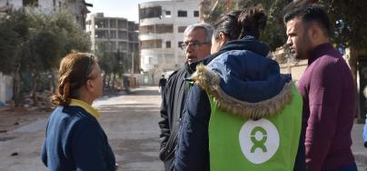 Wells rehabilitation in Douma