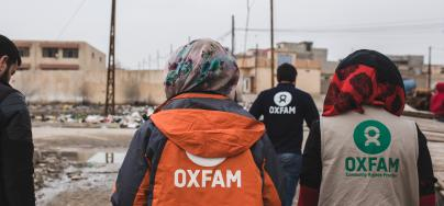Oxfam's Public Health Promotion team in Iraq