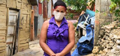 Julissa Álvarez lives in the Dominican Republic. Because of COVID-19-induced lockdowns, she has lost her clients and livelihood.