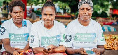 Through their participation to the Unblocked Cash Project, small vendors and local businesspeople are now at the centre of a technology and banking revolution.