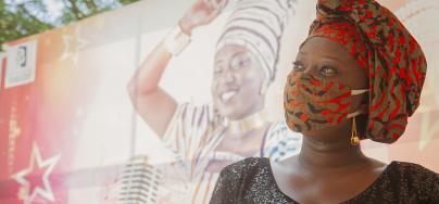 Malika la slameuse - Photo: Cissé Amadou/Oxfam