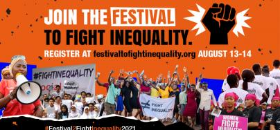 The Festival to Fight Inequality, 2021