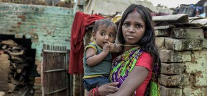 Comme Chhatiya, 60 millions d'Indiens basculent chaque année dans la pauvreté pour financer leurs soins de santé. Les niveaux de dépenses publiques pour la santé en Inde sont parmi les plus faibles dans le monde. Photo: Atul Loke, Panos/Oxfam