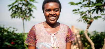 After receiving the Bio digester plant from Oxfam, Christine narrates how life has completely changed. Aurelie Marrier d'Unienville / Oxfam