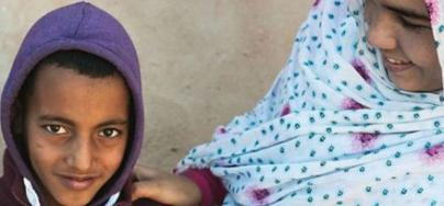 Fahda Bachir Mohamed, 27 ans, née dans le camp de réfugiés de Laâyoune. Aujourd'hui elle y travaille comme monitrice de sensibilisation en nutrition.