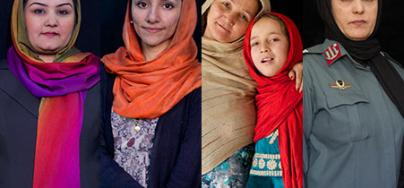 Afghan Women. Photo: Lalage Snow/Oxfam