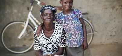 Mmalebna and her daughter Asana*. Credit: Nana Kofi Acquah/Oxfam