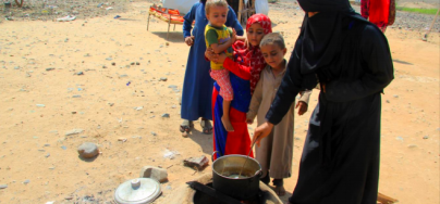 People from yemen suffering food security crisis